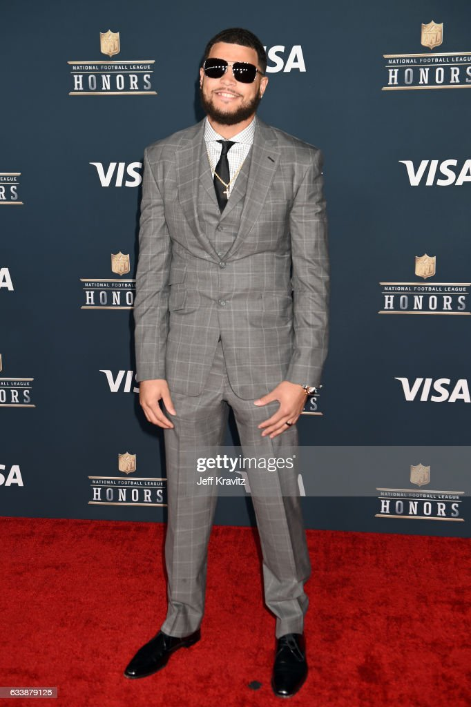 NFL player Mike Evans attends 6th Annual NFL Honors at Wortham Theater Center on February 4, 2017 in Houston, Texas.