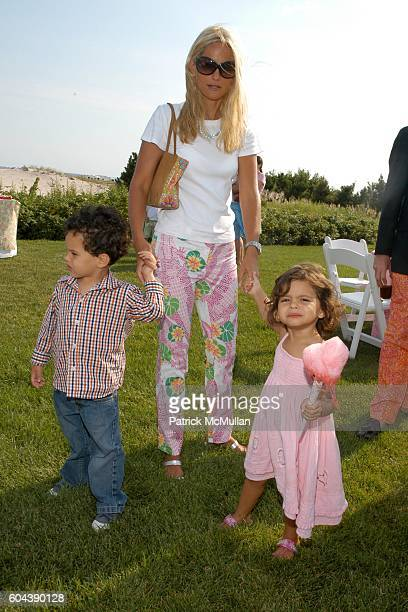 Player Mnuchin Heather Mnuchin and Dylan Mnuchin attend LILLY PULITZER and James Bradbeer Jr Host a Family Tea Party in Honor of THE BOYS' CLUB of...