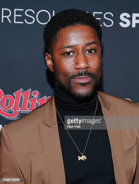 NFL player Nate Burleson attends Rolling Stone Live SF with Talent Resources on February 7 2016 in San Francisco California