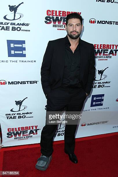 NHL player Nate Thompson attends Celebrity Sweat's After ESPYs VIP Bash Arrivals at The Palm Restaurant on July 13 2016 in Los Angeles California