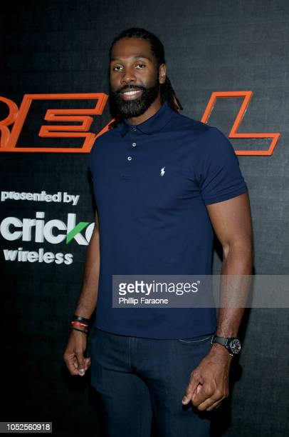 NBA player Nene attends the B/Real Premiere Event at Kimpton La Peer Hotel on October 19 2018 in West Hollywood California