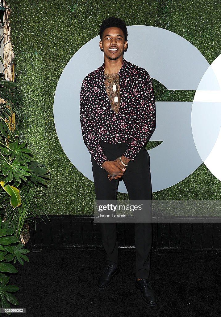 NBA player Nick Young attends the GQ Men of the Year party at Chateau Marmont on December 8, 2016 in Los Angeles, California.