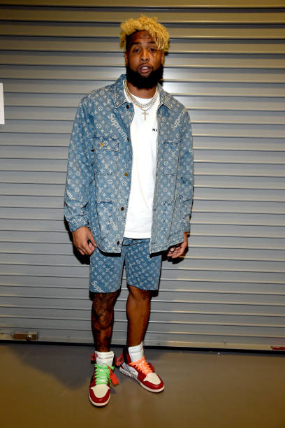 Odell beckham photos pictures of odell beckham getty images nfl player odell beckham jr attends nickelodeon kids choice sports awards 2017 at pauley m4hsunfo