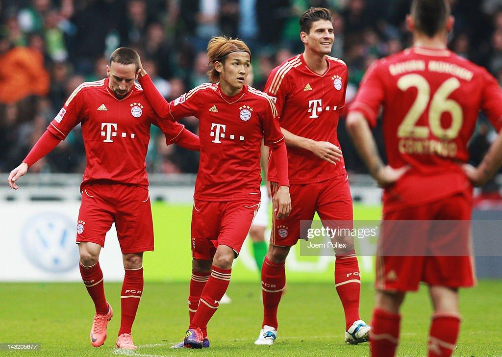 SV Werder Bremen v FC Bayern Muenchen  - Bundesliga : ニュース写真