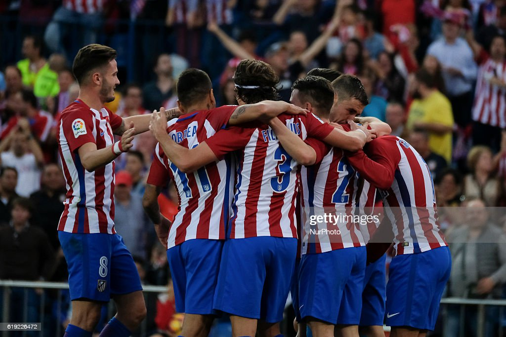 Club Atletico de Madrid v Malaga CF - La Liga : News Photo