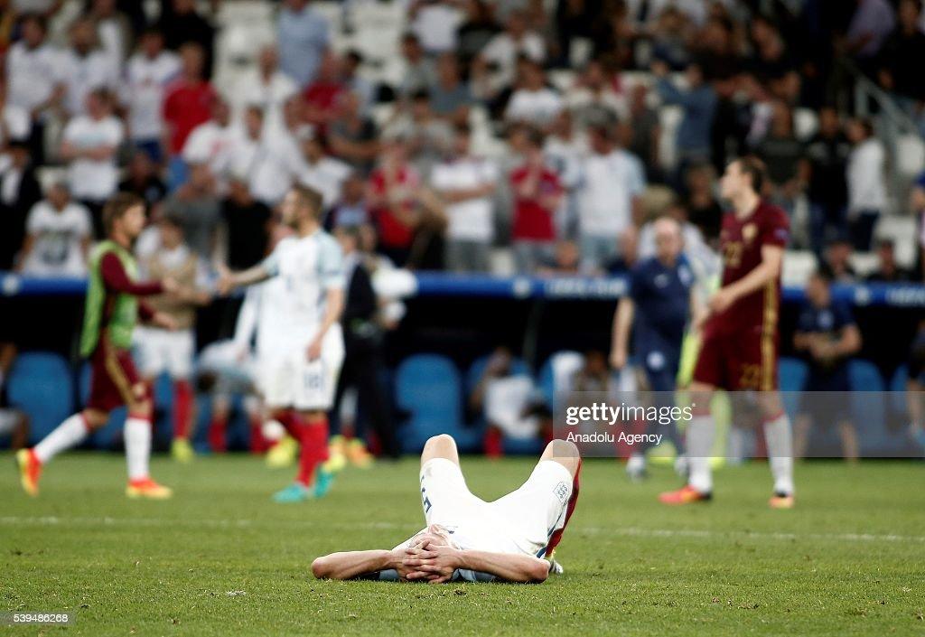 England v Russia - EURO 2016 : News Photo