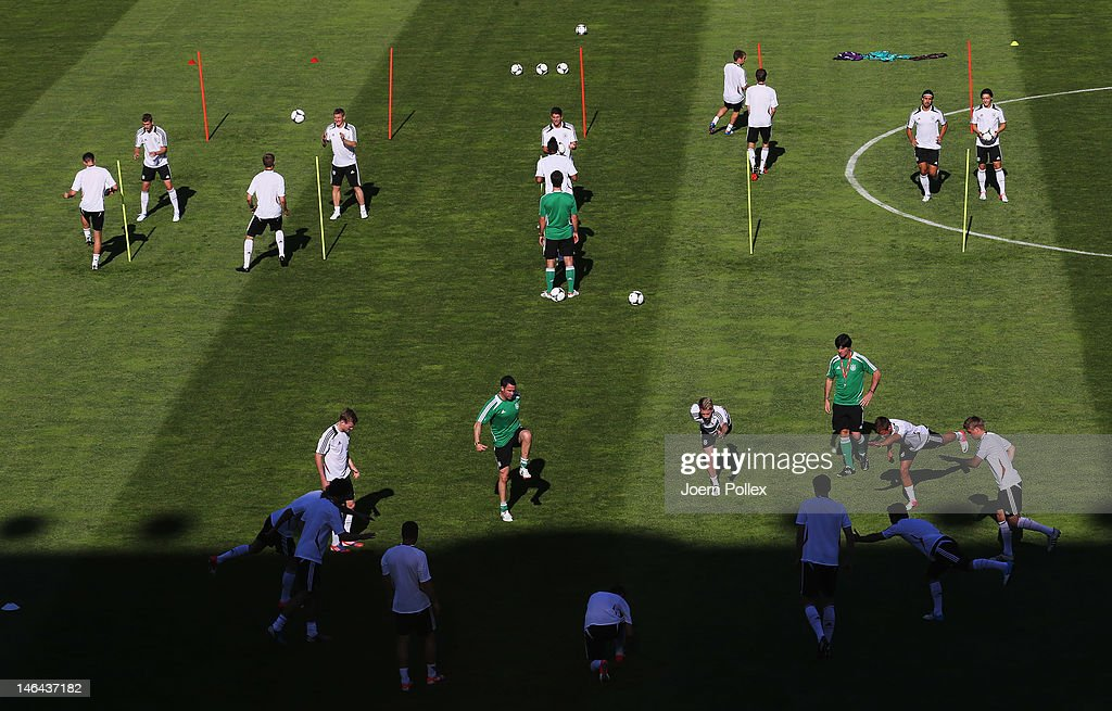 Germany Training & Press Conference - Group B: UEFA EURO 2012 : News Photo