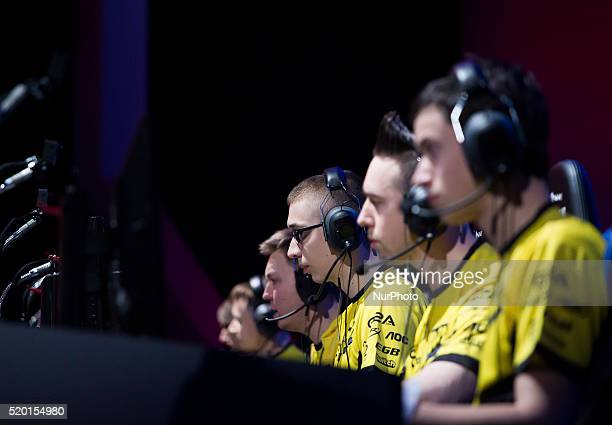 Player of quotNatus Vincerequot team play in the game World of Tanks in Warsaw 09 April Poland