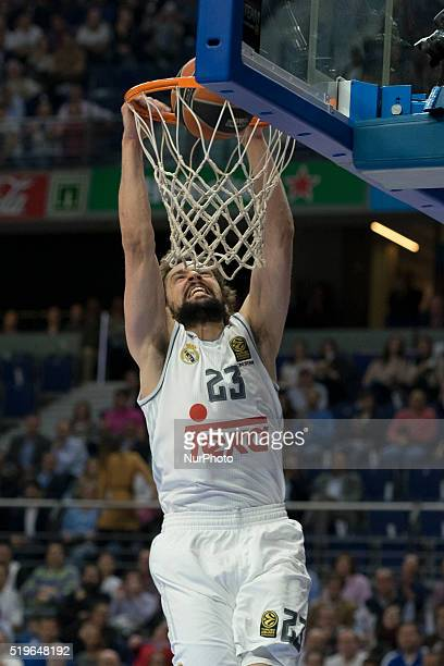 LLULL player of Real Madrid during the 20152016 Turkish Airlines Euroleague Basketball Top 16 Round 14 game between Real Madrid v Khimki Moscow...