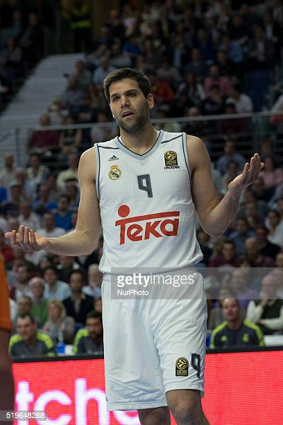 REYES player of Real Madrid during the 20152016 Turkish Airlines Euroleague Basketball Top 16 Round 14 game between Real Madrid v Khimki Moscow...