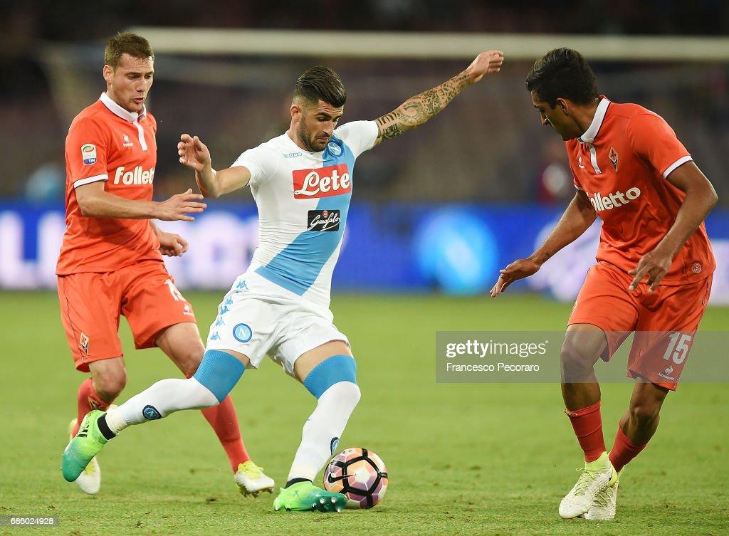 SSC Napoli v ACF Fiorentina - Serie A : ニュース写真