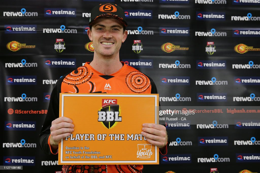 Player Of The Match Ashton Turner Scorchers After