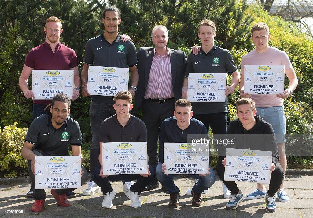 Nominees Photocall- PFA Scotland's Scottish Premiership Player of the Year Awards