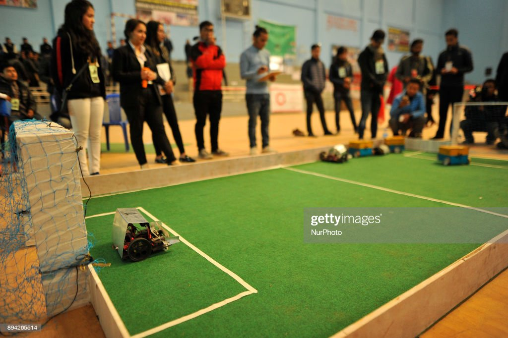Robotics Competition in Nepal