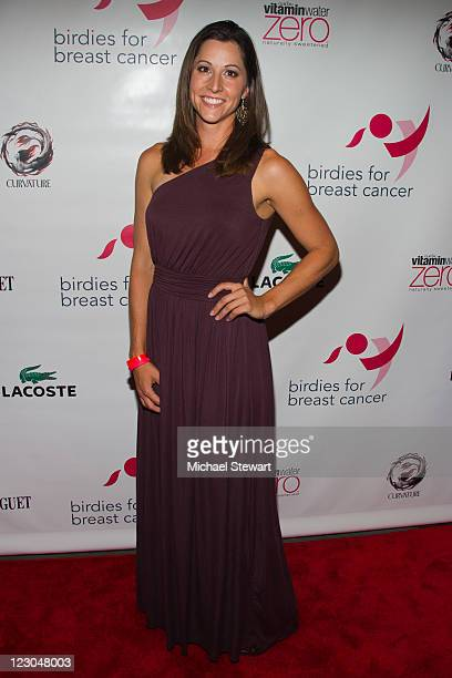 LPGA player Paige Mackenzie attends the Cristie Kerr Inaugural Liberty CupCharity Golf Tournament KickOff celebration at PhD Dream Downtown Hotel...