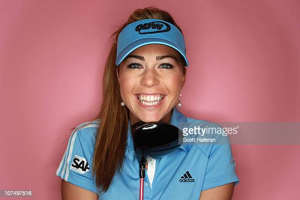 Player Paula Creamer poses for a portrait at the Isleworth Country Club on December 9, 2010 in Windermere, Florida.