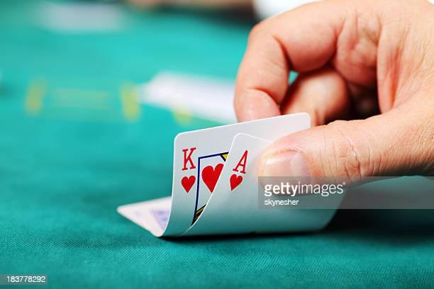player - poker - fotografias e filmes do acervo