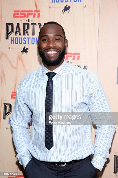 NFL player Pierre Garçon attends the 13th Annual ESPN The Party on February 3 2017 in Houston Texas
