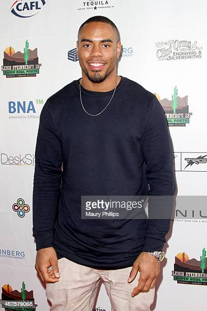 NFL player Rashad Jennings attends the 28th Annual Leigh Steinberg Super Bowl Party at Arizona Science Center on January 31 2015 in Phoenix Arizona