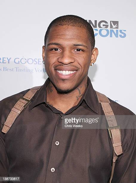NBA player Rashad McCants attends Grey Goose celebrating Grammy Week with Ultimate Jam Session at The Sayers Club on February 10 2012 in Hollywood...