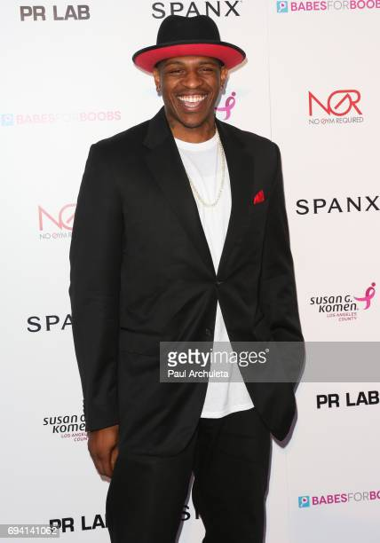 Player Rashad McCants attends the Babes For Boobs Bachelor auction benefitting the Los Angeles County Affiliate Of Susan G Komen at El Rey Theatre on...