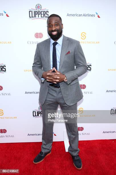 NBA player Raymond Felton attends 32nd Annual CedarsSinai Sports Spectacular at W Los Angeles Westwood on April 3 2017 in Los Angeles California
