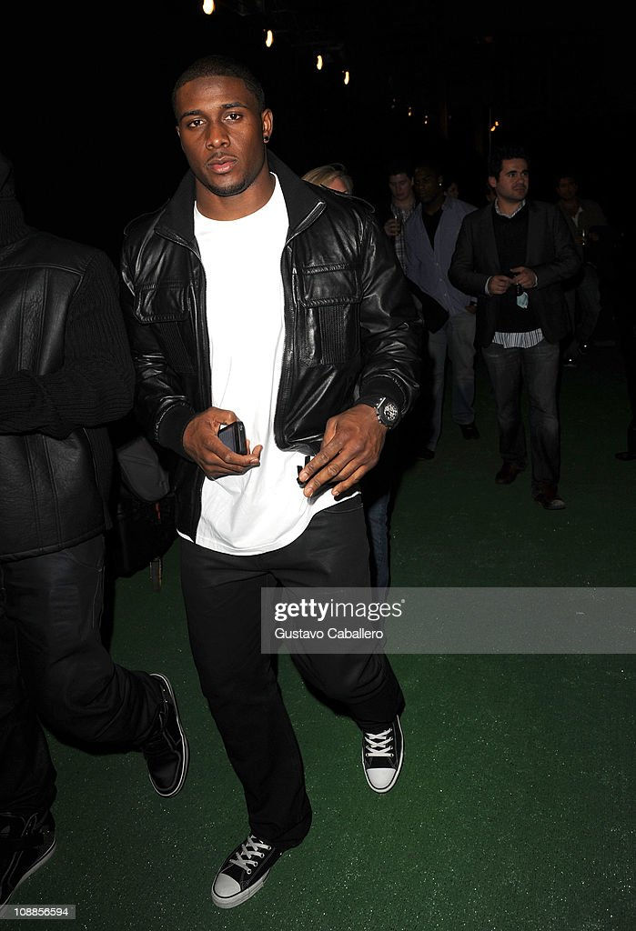 NFL player Reggie Bush of the New Orleans Saints attends the Maxim Party Powered by Motorola Xoom at Centennial Hall at Fair Park on February 5, 2011 in Dallas, Texas.