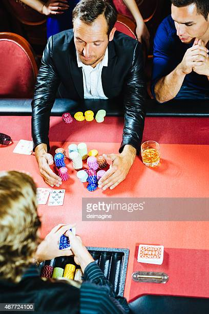 player retires winning - texas hold 'em stock pictures, royalty-free photos & images