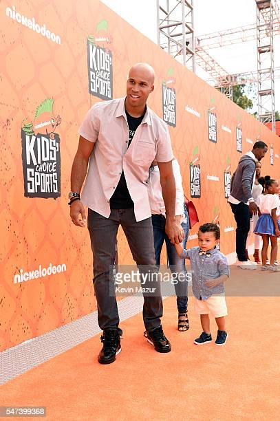NBA player Richard Jefferson attends the Nickelodeon Kids' Choice Sports Awards 2016 at UCLA's Pauley Pavilion on July 14 2016 in Westwood California