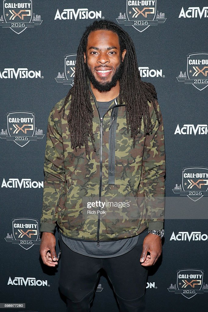 NFL player Richard Sherman attends The Ultimate Fan Experience, Call Of Duty XP 2016, presented by Activision, at The Forum on September 3, 2016 in Inglewood, California.