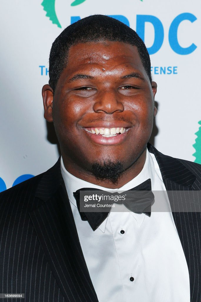 NFL player Ronnie Cameron attends the 2013 Natural Resources Defense Council Game Changer Awards at the Mandarin Oriental Hotel on March 14, 2013 in New York City.