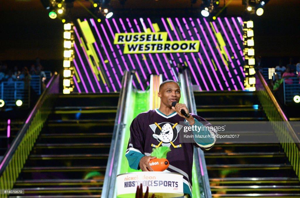 Nickelodeon Kids' Choice Sports Awards 2017 - Roaming Show : News Photo