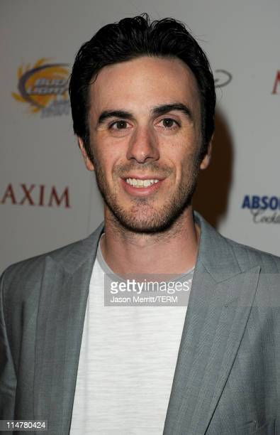 NHL Player Ryan Miller arrives at the 11th annual Maxim Hot 100 Party with HarleyDavidson ABSOLUT VODKA Ed Hardy Fragrances and ROGAINE held at...
