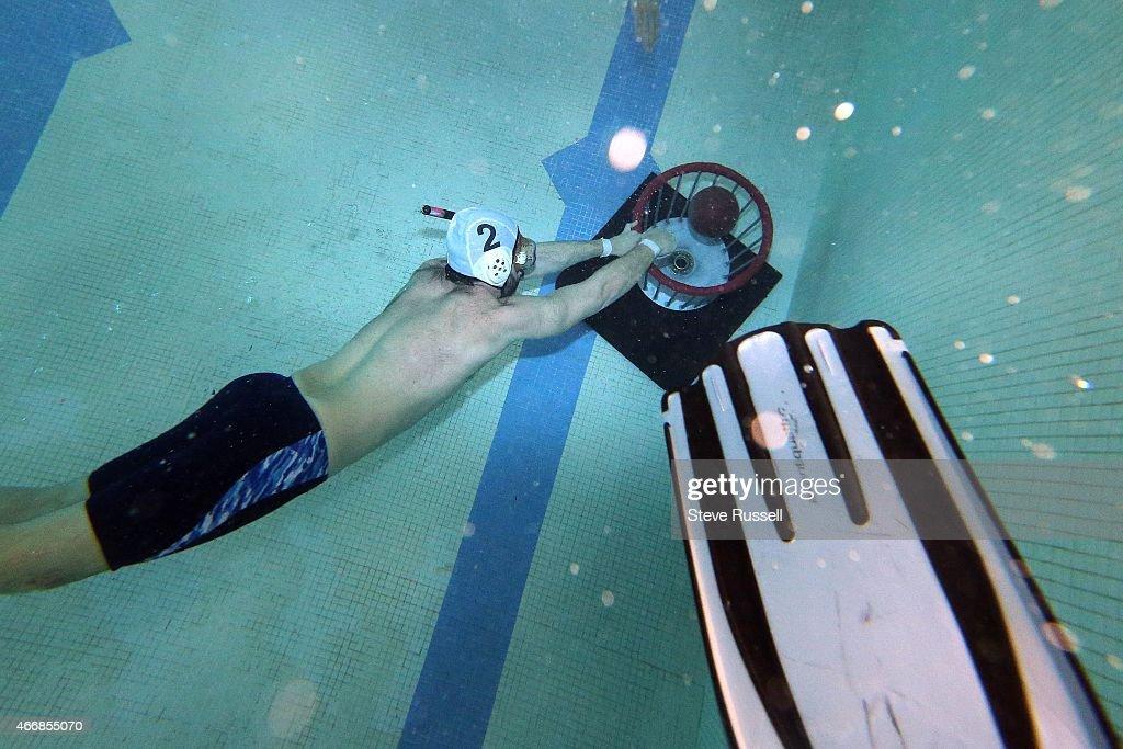 Underwater Rugby Team : News Photo
