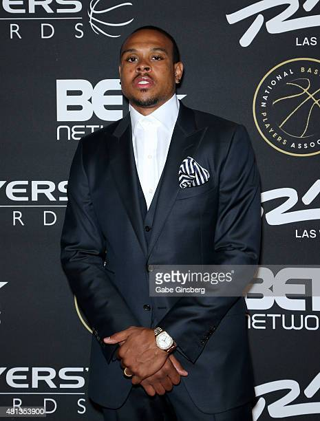 Player Shannon Brown attends The Players' Awards presented by BET at the Rio Hotel & Casino on July 19, 2015 in Las Vegas, Nevada.