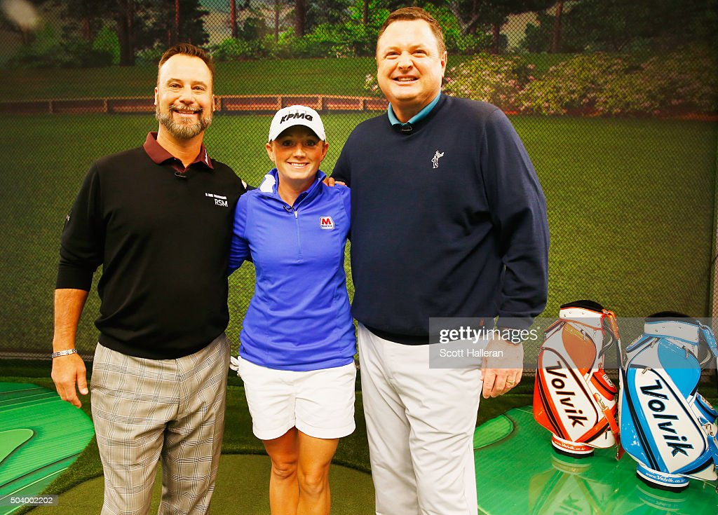 """Stacy Lewis Appears On Golf Channel's """"Morning Drive"""""""