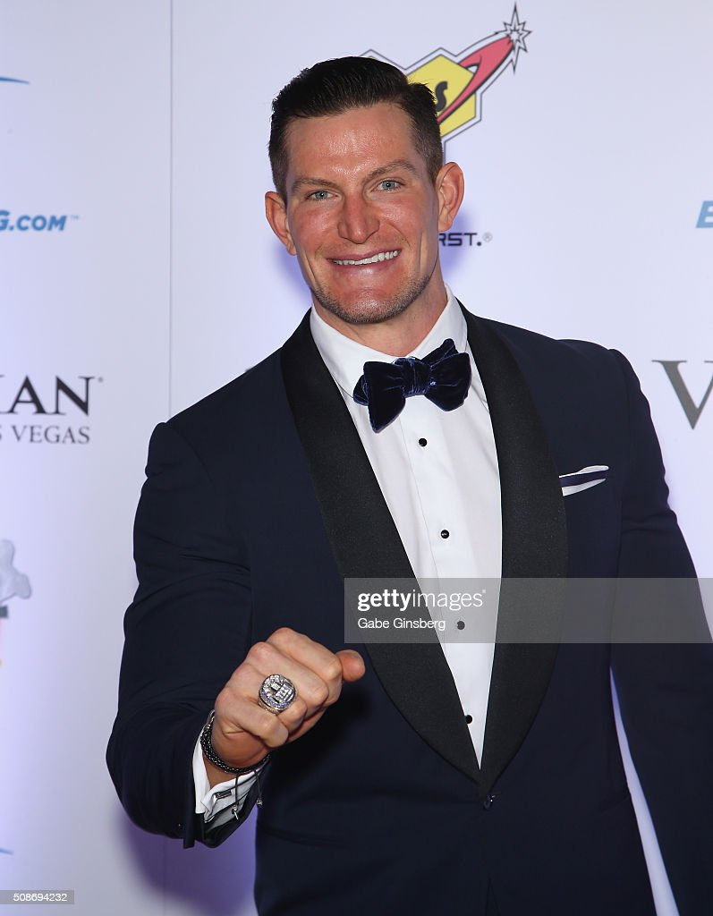 NFL player Steve Weatherford attends the eighth annual Fighters Only World Mixed Martial Arts Awards at The Palazzo Las Vegas on February 5, 2016 in Las Vegas, Nevada.