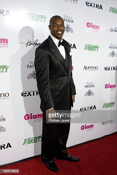 NFL Player Terrell Owens of the Dallas Cowboys arrives at the 1st Annual 'Party With A Purpose' Viewing And After Party at Mr Chow on February 22...