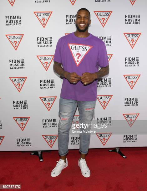 NBA player Thomas Robinson at GUESS Celebrates 35 Years with Opening of Exhibition at the FIDM Museum Galleries at FIDM Museum Galleries on the Park...