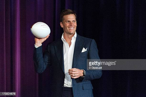 NFL player Tom Brady attends the 2013 Carnegie Hall Medal Of Excellence Gala at The Waldorf=Astoria on June 13 2013 in New York City
