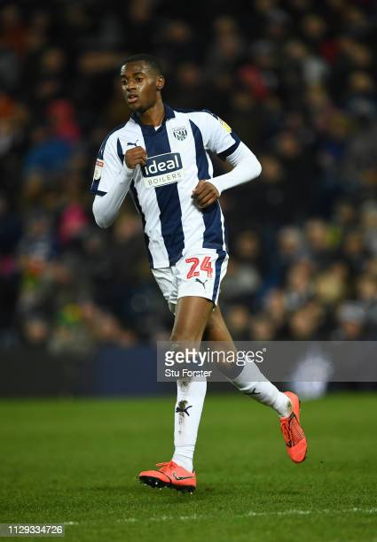 Player Tosin Adarabioyo in action during the Sky Bet Championship EPL match between West Bromwich Albion and Nottingham Forest at The Hawthorns on...