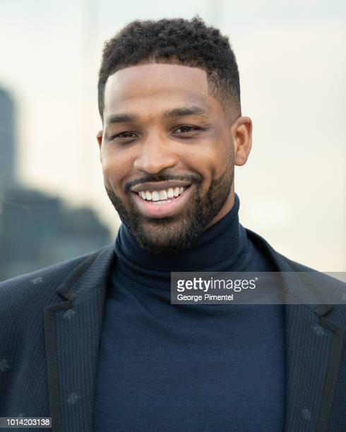 Player Tristan Thompson attends The Amari Thompson Soiree in support of Epilepsy Toronto at The Globe and Mail Centre on August 9, 2018 in Toronto,...
