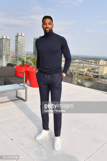 Player Tristan Thompson attends The Amari Thompson Soiree in support of Epilepsy Toronto at The Globe and Mail Centre on August 9 2018 in Toronto...