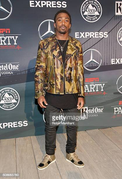 Player Tyrod Taylor attends ESPN The Party on February 5, 2016 in San Francisco, California.