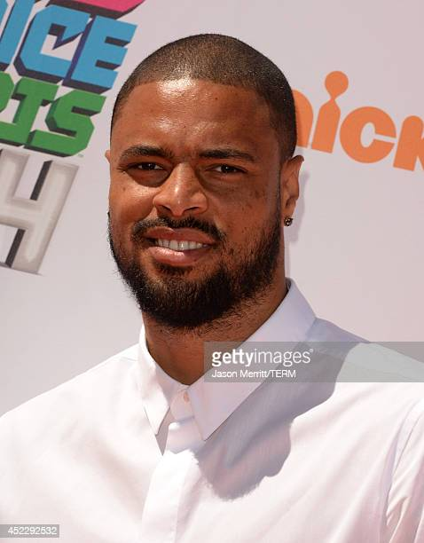 NBA player Tyson Chandler attends Nickelodeon Kids' Choice Sports Awards 2014 at UCLA's Pauley Pavilion on July 17 2014 in Los Angeles California