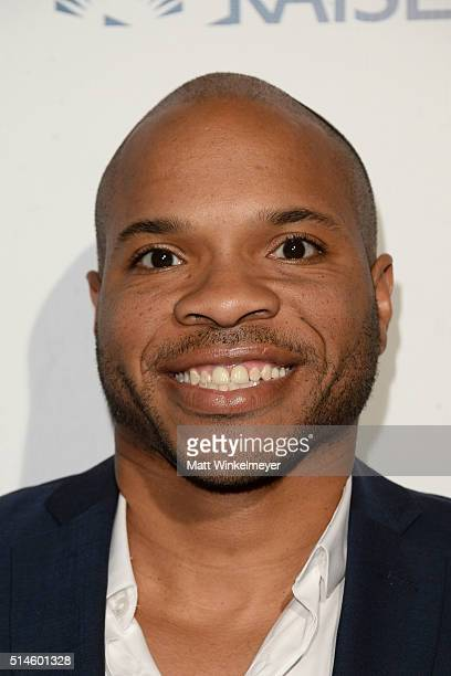 NBA player Vernon Gaines arrives at the California Fire Foundation 2016 Gala at Avalon Hollywood on March 9 2016 in Los Angeles California