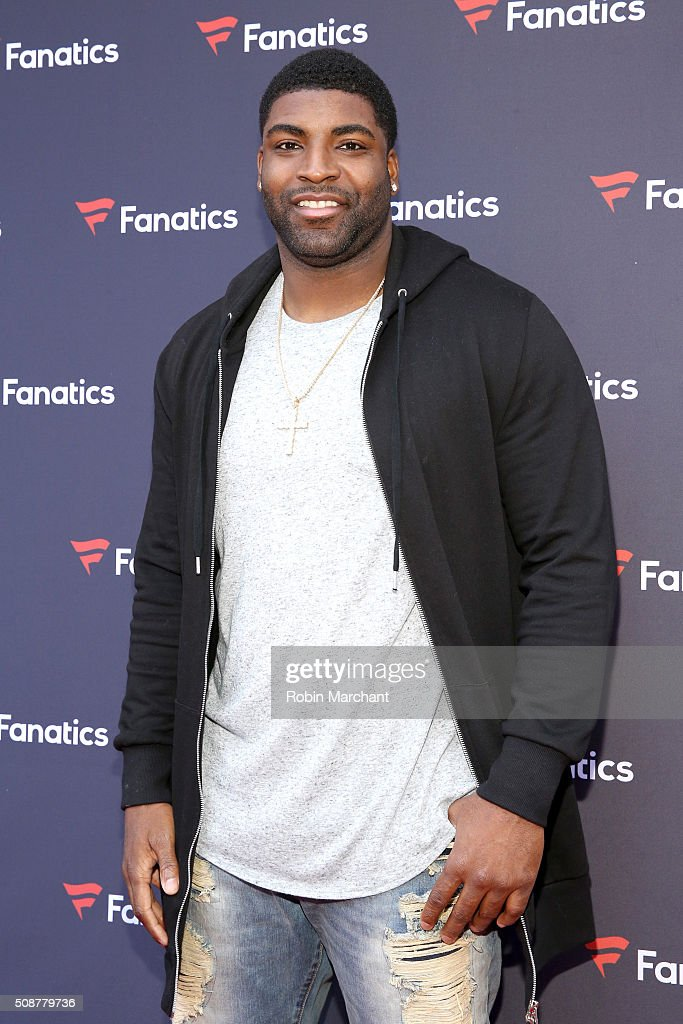 NFL player Vinny Curry attends Fanatics Super Bowl Party on February 6, 2016 in San Francisco, California.