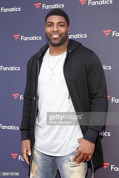 Player Vinny Curry attends Fanatics Super Bowl Party on February 6, 2016 in San Francisco, California.