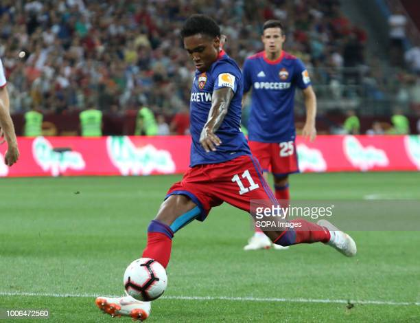 CSKA player Vitinho seen during the Olimp Super Cup of Russia match CSKA moscow won the Olimp Super Cup of Russia with a 10 victory over Lokomotive...