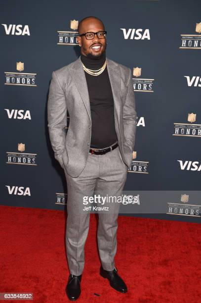 NFL player Von Miller attends 6th Annual NFL Honors at Wortham Theater Center on February 4 2017 in Houston Texas